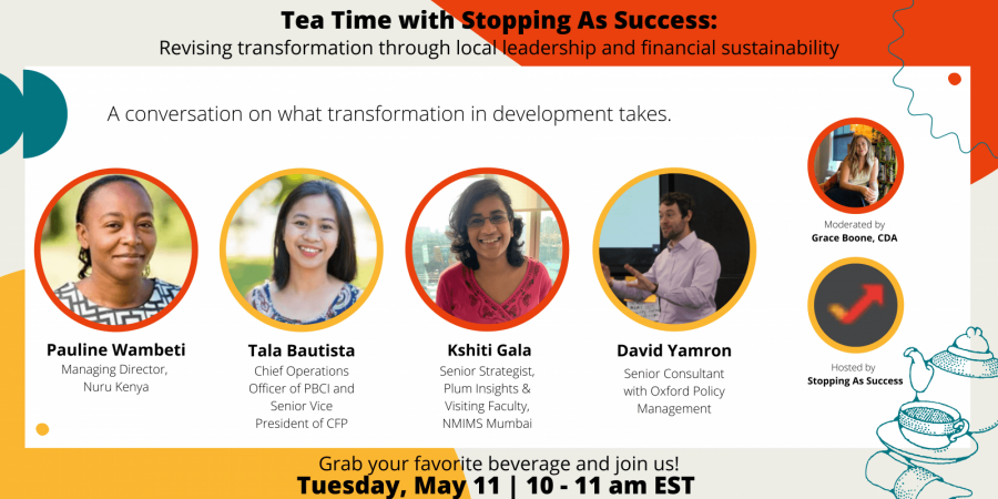 Tea Time with Stopping As Success